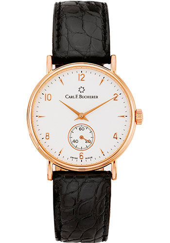 Carl F. Bucherer Watches - Adamavi Manual Wind 34mm - Rose Gold - Style No: 00.10305.03.26.01