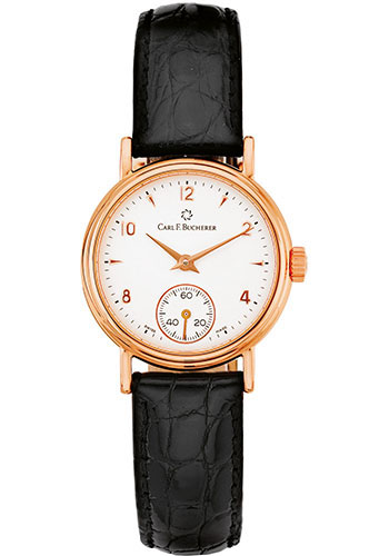 Carl F. Bucherer Watches - Adamavi Manual Wind 27mm - Rose Gold - Style No: 00.10306.03.26.01