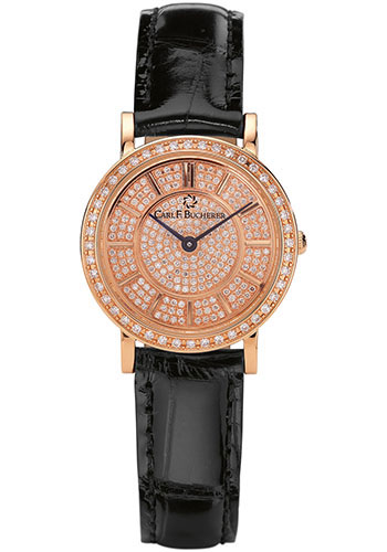 Carl F. Bucherer Watches - Adamavi Quartz 26mm - Rose Gold - Style No: 00.10310.03.93.11