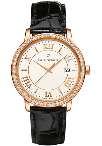 Carl F. Bucherer Watches - Adamavi Automatic 39mm - Rose Gold - Style No: 00.10311.03.15.11