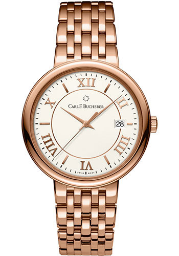 Carl F. Bucherer Watches - Adamavi Automatic 39mm - Rose Gold - Style No: 00.10311.03.15.21