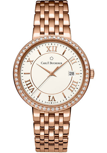 Carl F. Bucherer Watches - Adamavi Automatic 39mm - Rose Gold - Style No: 00.10311.03.15.31