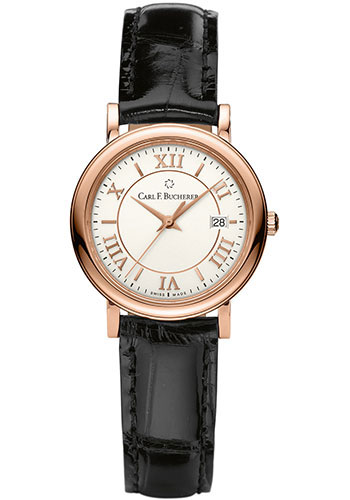 Carl F. Bucherer Watches - Adamavi Quartz 28mm - Rose Gold - Style No: 00.10312.03.15.01
