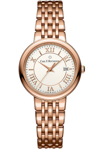Carl F. Bucherer Watches - Adamavi Quartz 28mm - Rose Gold - Style No: 00.10312.03.15.21