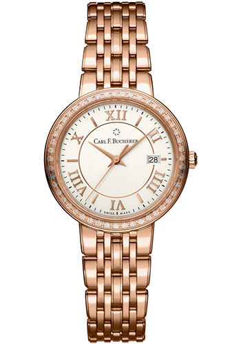 Carl F. Bucherer Watches - Adamavi Quartz 28mm - Rose Gold - Style No: 00.10312.03.15.31