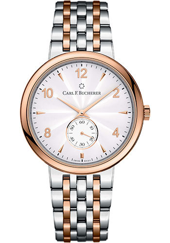 Carl F. Bucherer Watches - Adamavi Manual Wind 39mm - Steel and Rose Gold - Style No: 00.10316.07.26.21