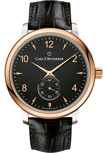 Carl F. Bucherer Watches - Adamavi Manual Wind 39mm - Steel and Rose Gold - Style No: 00.10316.07.36.01