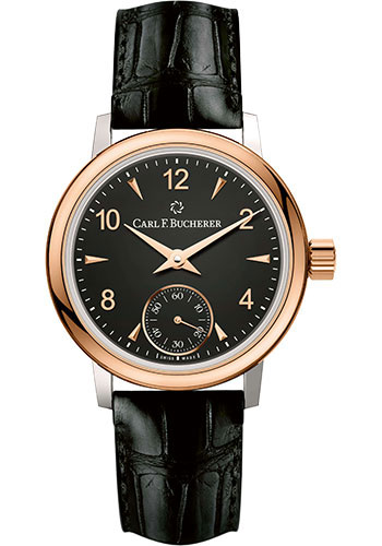 Carl F. Bucherer Watches - Adamavi Manual Wind 28mm - Steel and Rose Gold - Style No: 00.10317.07.36.01