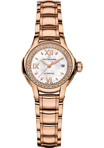 Carl F. Bucherer Watches - Pathos Queen Watch - Rose Gold - Style No: 00.10550.03.75.21