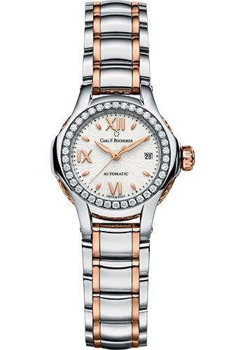 Carl F. Bucherer Watches - Pathos Queen Watch - Steel and Rose Gold - Style No: 00.10551.07.25.31