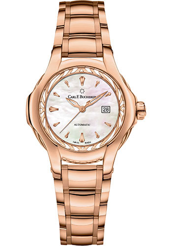 Carl F. Bucherer Watches - Pathos Diva Watch - Rose Gold - Style No: 00.10580.03.73.21.02