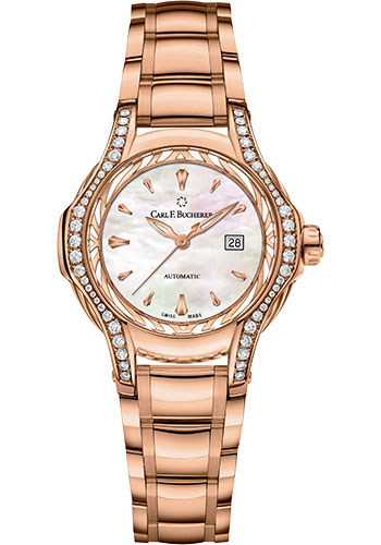 Carl F. Bucherer Watches - Pathos Diva Watch - Rose Gold - Style No: 00.10580.03.73.31.02