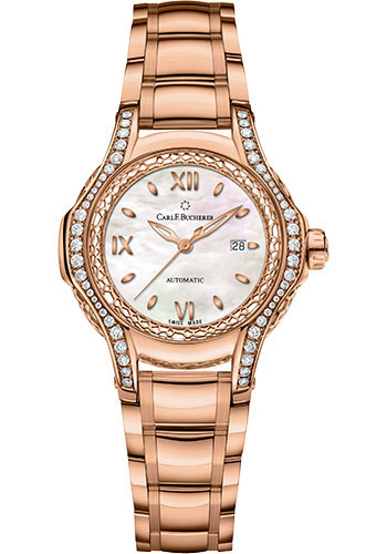 Carl F. Bucherer Watches - Pathos Diva Watch - Rose Gold - Style No: 00.10580.03.75.31.01