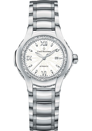 Carl F. Bucherer Watches - Pathos Diva Watch - Steel - Style No: 00.10580.08.25.21.01