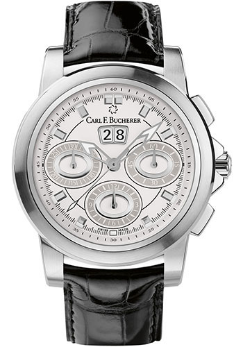 Carl F. Bucherer Watches - Patravi ChronoDate Stainless Steel - Style No: 00.10611.08.23.02