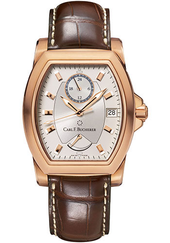 Carl F. Bucherer Watches - Patravi T-24 Rose Gold - Style No: 00.10612.03.13.01