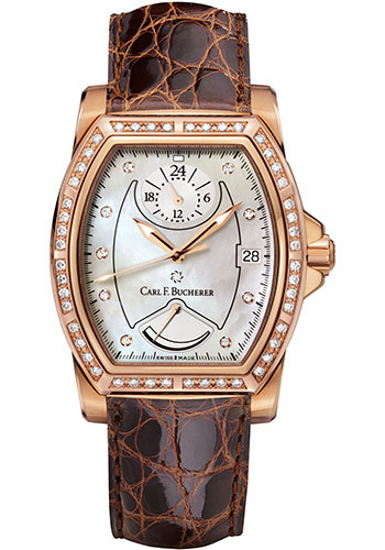 Carl F. Bucherer Watches - Patravi T-24 Rose Gold - Style No: 00.10612.03.74.11