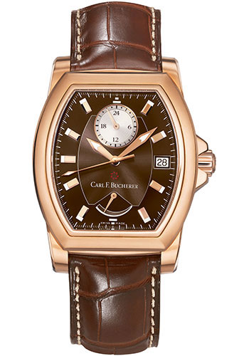 Carl F. Bucherer Watches - Patravi T-24 Rose Gold - Style No: 00.10612.03.93.01