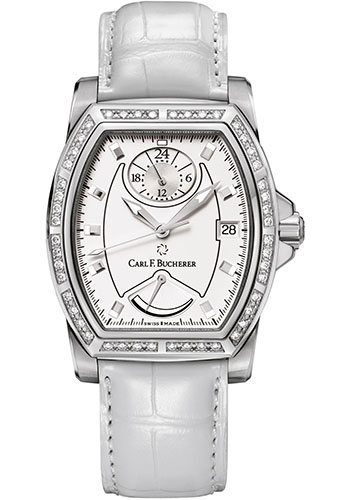 Carl F. Bucherer Watches - Patravi T-24 Stainless Steel - Style No: 00.10612.08.23.11