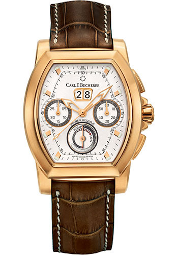 Carl F. Bucherer Watches - Patravi T-Graph Rose Gold - Style No: 00.10615.03.13.01