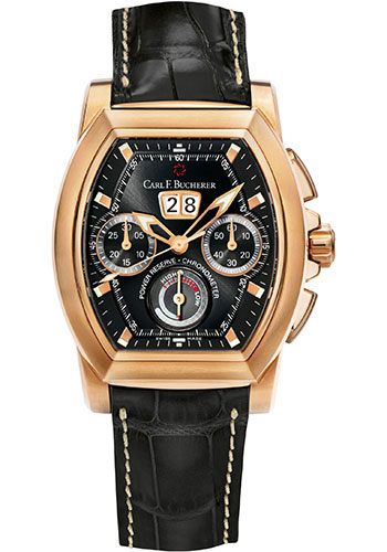 Carl F. Bucherer Watches - Patravi T-Graph Rose Gold - Style No: 00.10615.03.33.01