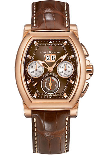 Carl F. Bucherer Watches - Patravi T-Graph Rose Gold - Style No: 00.10615.03.93.01