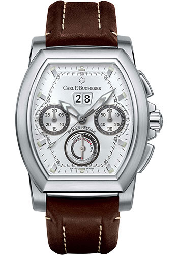 Carl F. Bucherer Watches - Patravi T-Graph Stainless Steel - Style No: 00.10615.08.13.01