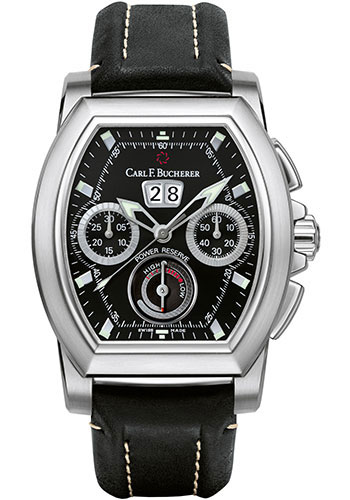 Carl F. Bucherer Watches - Patravi T-Graph Stainless Steel - Style No: 00.10615.08.33.01