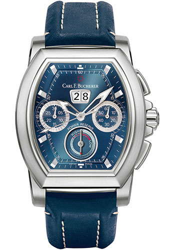 Carl F. Bucherer Watches - Patravi T-Graph Stainless Steel - Style No: 00.10615.08.53.01