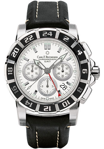 Carl F. Bucherer Watches - Patravi TravelGraph - Style No: 00.10618.13.23.01