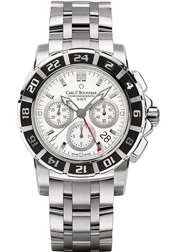 Carl F. Bucherer Watches - Patravi TravelGraph - Style No: 00.10618.13.23.21