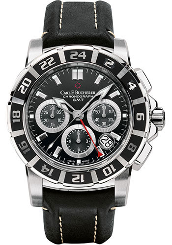 Carl F. Bucherer Watches - Patravi TravelGraph - Style No: 00.10618.13.33.01