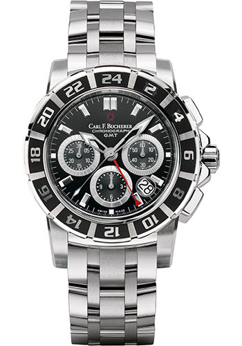 Carl F. Bucherer Watches - Patravi TravelGraph - Style No: 00.10618.13.33.21