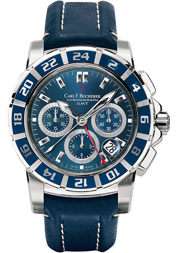 Carl F. Bucherer Watches - Patravi TravelGraph - Style No: 00.10618.13.53.01
