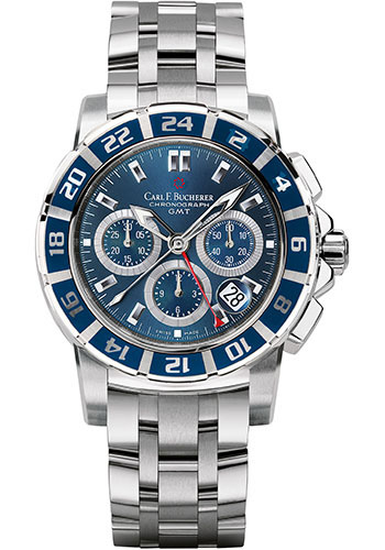 Carl F. Bucherer Watches - Patravi TravelGraph - Style No: 00.10618.13.53.21