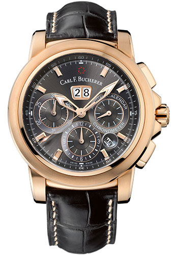 Carl F. Bucherer Watches - Patravi ChronoDate Rose Gold - Style No: 00.10619.03.33.01