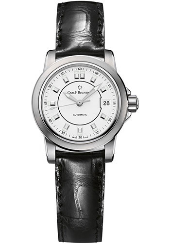 Carl F. Bucherer Watches - Patravi AutoDate 27mm - Stainless Steel - Style No: 00.10621.08.23.01