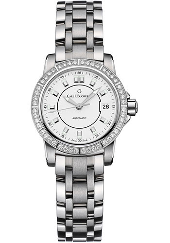 Carl F. Bucherer Watches - Patravi AutoDate 27mm - Stainless Steel - Style No: 00.10621.08.23.31