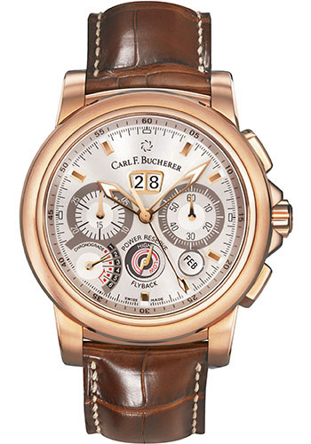 Carl F. Bucherer Watches - Patravi ChronoGrade Rose Gold - Style No: 00.10623.03.13.01