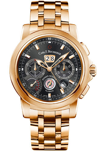 Carl F. Bucherer Watches - Patravi ChronoGrade Rose Gold - Style No: 00.10623.03.33.21