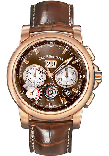 Carl F. Bucherer Watches - Patravi ChronoGrade Rose Gold - Style No: 00.10623.03.93.01