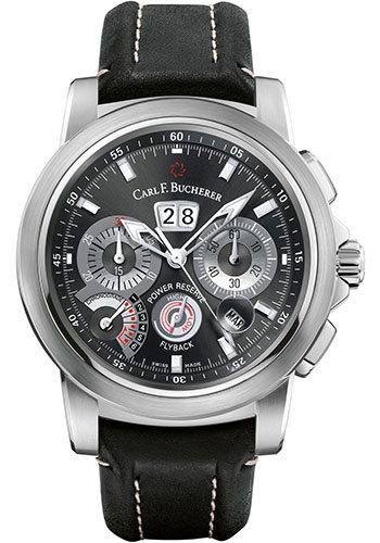 Carl F. Bucherer Watches - Patravi ChronoGrade Stainless Steel - Style No: 00.10623.08.33.01