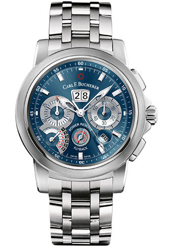 Carl F. Bucherer Watches - Patravi ChronoGrade Stainless Steel - Style No: 00.10623.08.53.21