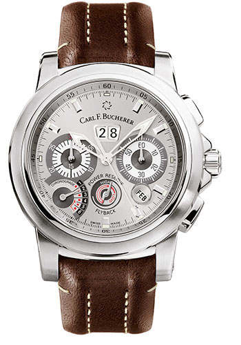 Carl F. Bucherer Watches - Patravi ChronoGrade Stainless Steel - Style No: 00.10623.08.63.01