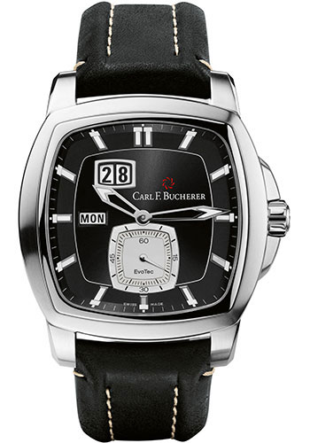 Carl F. Bucherer Watches - Patravi EvoTec DayDate Stainless Steel - Style No: 00.10625.08.33.01
