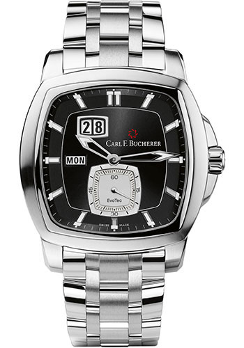 Carl F. Bucherer Watches - Patravi EvoTec DayDate Stainless Steel - Style No: 00.10625.08.33.21