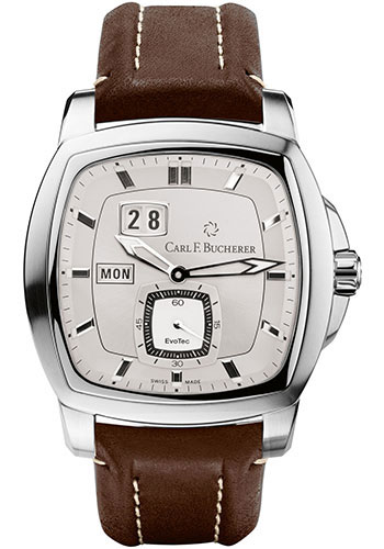 Carl F. Bucherer Watches - Patravi EvoTec DayDate Stainless Steel - Style No: 00.10625.08.63.01