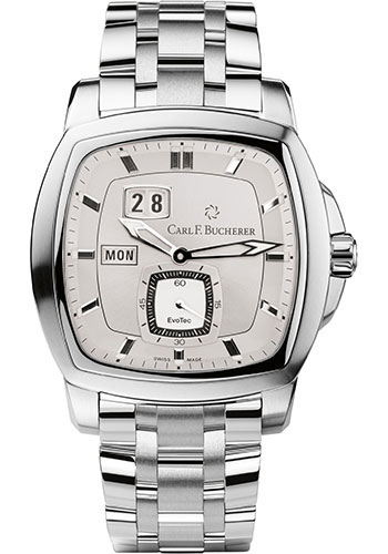 Carl F. Bucherer Watches - Patravi EvoTec DayDate Stainless Steel - Style No: 00.10625.08.63.21