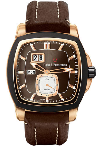 Carl F. Bucherer Watches - Patravi EvoTec DayDate Rose Gold - Style No: 00.10625.15.93.01