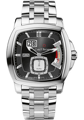 Carl F. Bucherer Watches - Patravi EvoTec PowerReserve Stainless Steel - Style No: 00.10627.08.33.21